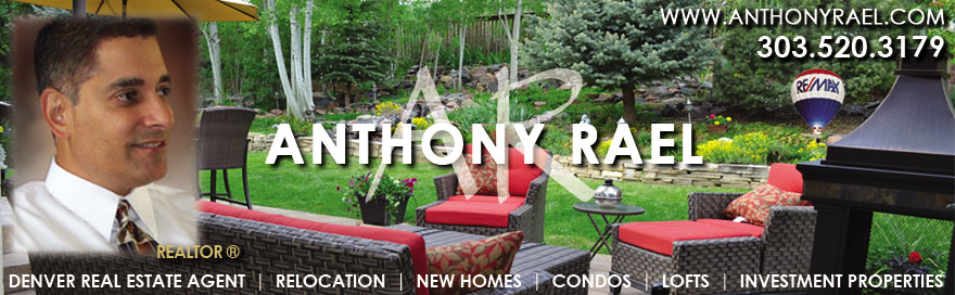 REMAX Alliance Arvada - Denver Relocation & Real Estate Agent - Denver Homes for Sale in Arvada, Brighton, Boulder, Broomfield, Erie, Golden, Highlands Ranch, Lakewood, Littleton, Louisville, Parker, Thornton, Westminster, Investing in Denver Real Estate, Condos, Anthony Rael, Denver REALTOR, REMAX Denver