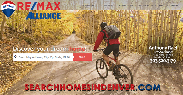 Find Your Colorado Dream Home : Denver Colorado MLS Homes For Sale Property Listings : SearchDenverHomesForSale.com - powered by HomesInColorado REMAX Alliance